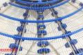 băng tải lưới inox 304 cong 90 độ băng tải cong