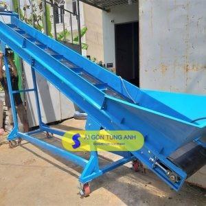 băng tải cao su nghiêng băng tải dừa băng tải